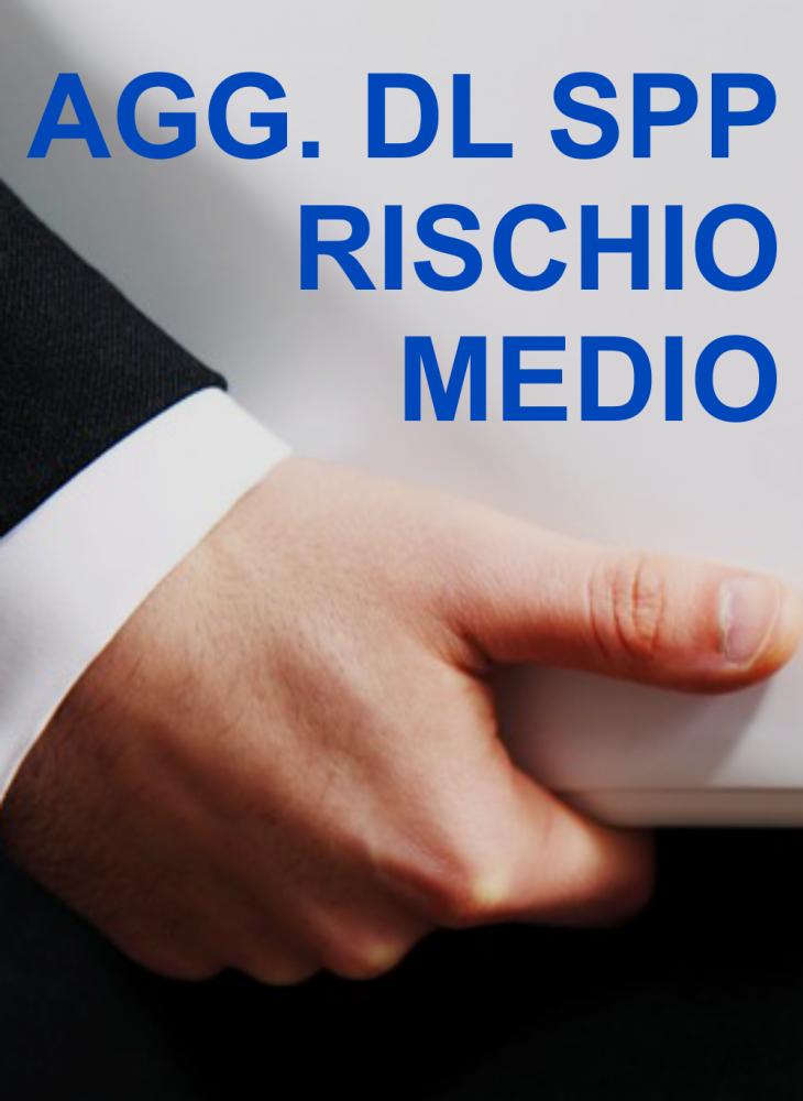 CORSO SICUREZZA E VALUTAZIONE DEI RISCHI - VALIDO COME AGGIORNAMENTO PER DL SPP RISCHIO MEDIO