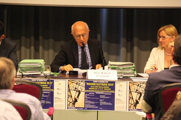 Dott. Guariniello Convegno Rischio Elettrico 2014 - Vega Formazione