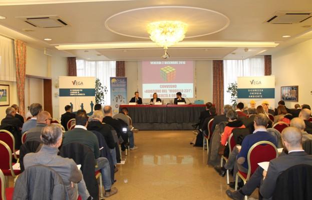 Partecipanti al Convegno sul Modello 231 a Cervignano del Friuli