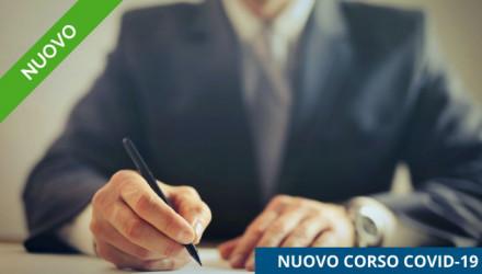 Corso E-Learning COVID-19: Responsabilità civili e penali delle figure aziendali in caso di contagio - Aggiornato con le ultime novità legislative