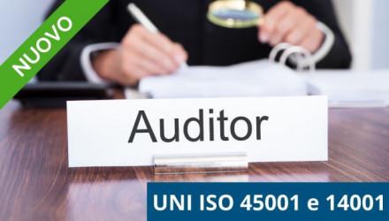 Corso E-learning Auditor per Sistemi di Gestione Sicurezza e Ambientale (45001 e 14001) e Modelli 231