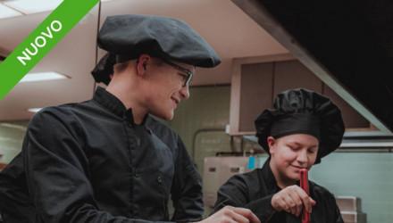 Corso E-Learning di Formazione sulla Sicurezza dei Lavoratori nelle Attività di Cucina (Valido per Aggiornamento Lavoratori)