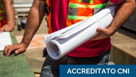 Corso E-Learning Sicurezza Cantieri: il Direttore Tecnico e il Capo Cantiere � Accreditato CNI (Aggiornamento RSPP, ASPP)