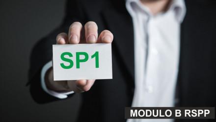 MODULO B-SP1: CORSO RSPP E ASPP - ACCORDO STATO REGIONI DEL 7/7/16 (SETTORE ATECO A) - VALIDO ANCHE COME AGG. A/RSPP