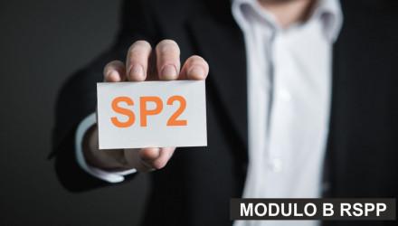 MODULO B-SP2: CORSO RSPP E ASPP - ACCORDO STATO REGIONI DEL 7/7/16 (SETTORI ATECO B e F) - VALIDO ANCHE COME AGG. A/RSPP