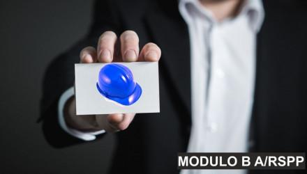 MODULO B COMUNE: CORSO RSPP E ASPP - ACCORDO STATO REGIONI DEL 7/7/16
