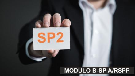 MODULO B-SP2: CORSO RSPP E ASPP - ACCORDO STATO REGIONI DEL 7/7/16 (SETTORI ATECO B e F) - ANCHE PER AGGIORNAMENTO ASPP E RSPP