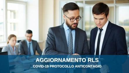 CORSI COVID-19 PER AGGIORNAMENTO RLS: IL RUOLO ATTIVO DEL RLS NEL PROTOCOLLO ANTICONTAGIO