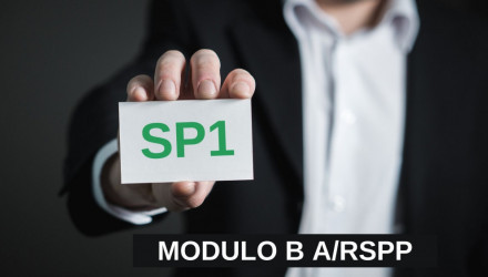 MODULO B-SP1: CORSO RSPP E ASPP - ACCORDO STATO REGIONI DEL 7/7/16 (SETTORE ATECO A)