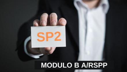 MODULO B-SP2: CORSO RSPP E ASPP - ACCORDO STATO REGIONI DEL 7/7/16 (SETTORI ATECO B e F)