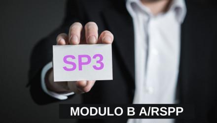 MODULO B-SP3: CORSO RSPP E ASPP - ACCORDO STATO REGIONI DEL 7/7/16 (SETTORE ATECO Q)