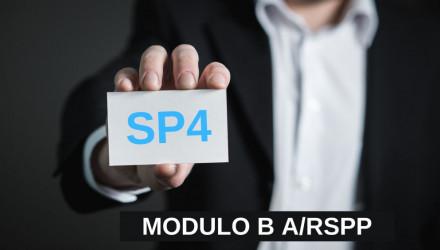 MODULO B-SP4: CORSO RSPP E ASPP - ACCORDO STATO REGIONI DEL 7/7/16 (SETTORE ATECO C)