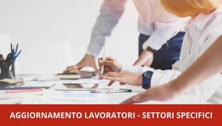 AGGIORNAMENTO LAVORATORI: VEDI TUTTI I CORSI E-LEARNING PER SETTORI E ATTIVITA' SPECIFICI