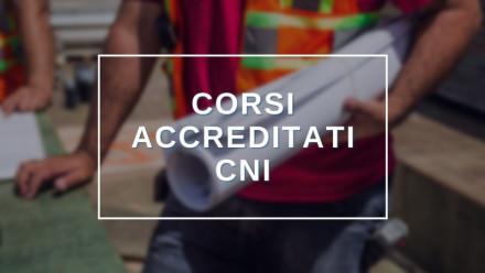 SCOPRI TUTTI I CORSI CON RICONOSCIMENTO CREDITI CNI. FREQUENTA ONLINE IN E-LEARNING
