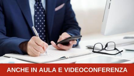 CORSO AGGIORNAMENTO RSPP VALIDO PER TUTTI I SETTORI ATECO (40 ORE) - FREQUENTA IN AULA E VIDEOCONFERENZA