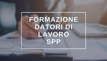 SCOPRI TUTTI I CORSI RSPP DATORI DI LAVORO (DLSPP) - IN AULA, VIDEOCONFERENZA O E-LEARNING